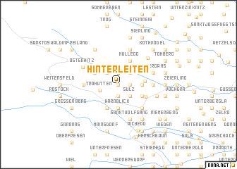 map of Hinterleiten