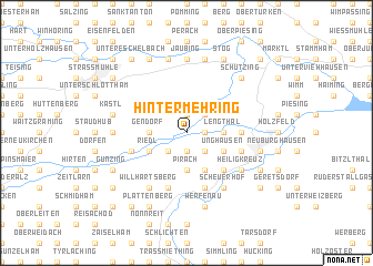 map of Hintermehring