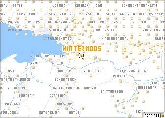 map of Hintermoos