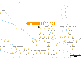 map of Hinterweisspriach