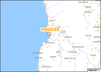 map of Hipusñgo