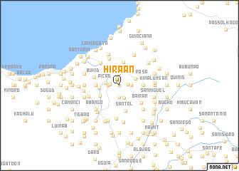 map of Hira-an