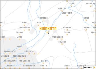 Hirakata Japan map nonanet