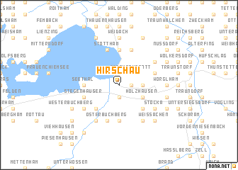map of Hirschau