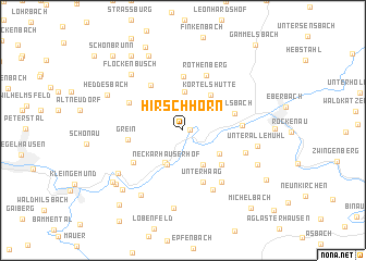 map of Hirschhorn