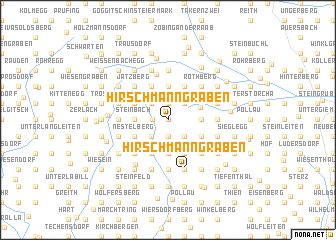 map of Hirschmanngraben