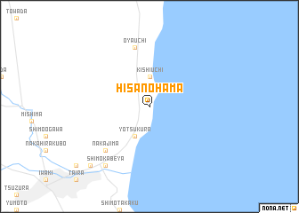 map of Hisanohama