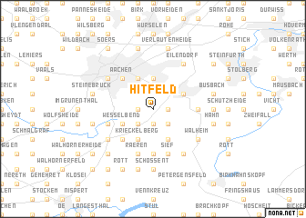 map of Hitfeld