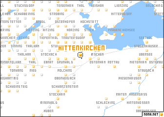 map of Hittenkirchen