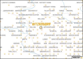 map of Hitzendorf
