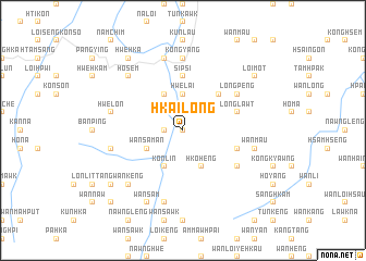 map of Hkailong