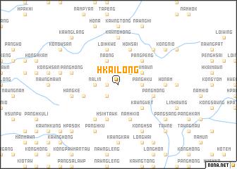 map of Hkai-long