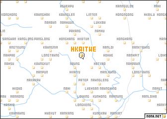 map of Hkai-twe