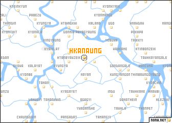 map of Hkanaung