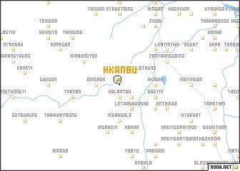map of Hkanbu