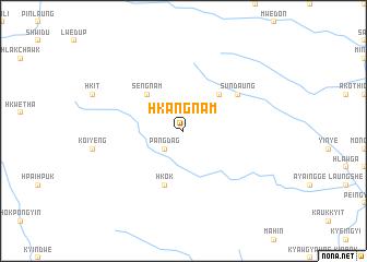 map of Hkangnam