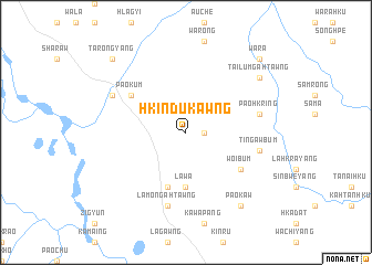 map of Hkindukawng