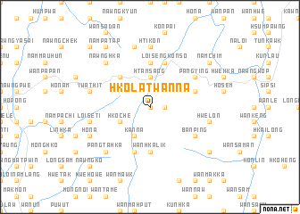 map of Hko-latwanna