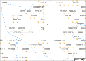 map of Hko-nim