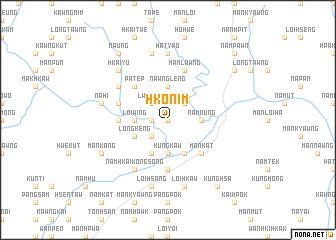 map of Hko-nim