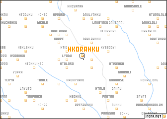 map of Hko-ra-hku