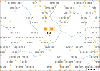map of Hko-wo