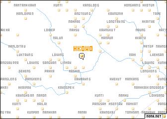 map of Hko-wo