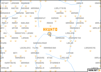 map of Hku Hto