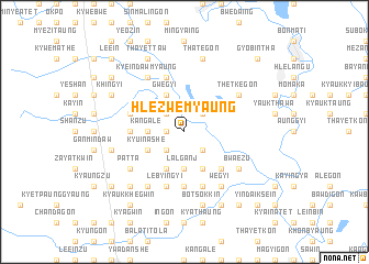 map of Hlezwemyaung