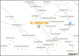 map of Hlybokoyar