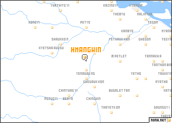map of Hmangwin