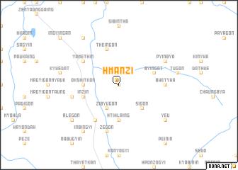 map of Hmanzi