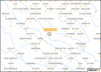 map of Hmaw-in