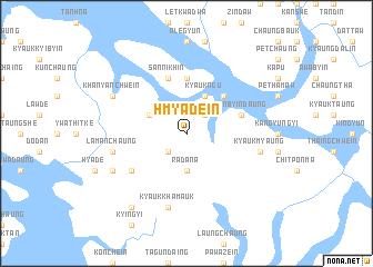 map of Hmyadein