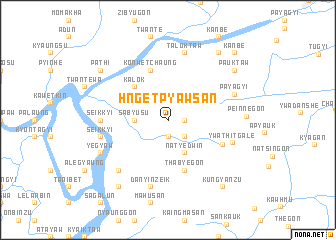 map of Hngetpyawsan