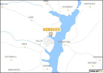 map of Hoboken