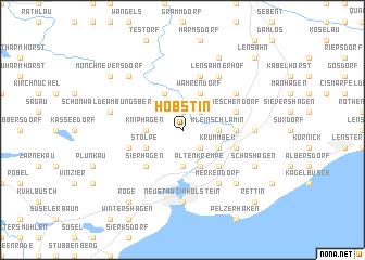 map of Hobstin