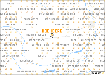 map of Hochberg
