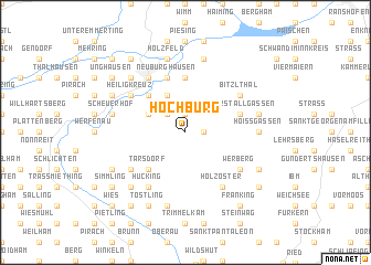 map of Hochburg