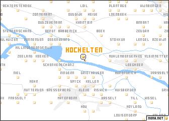 map of Hoch Elten