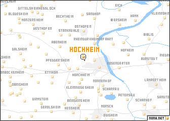map of Hochheim