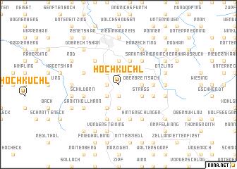 map of Hochkuchl