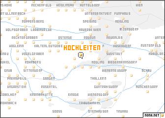 map of Hochleiten