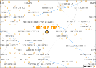 map of Hochleithen