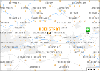 map of Hochstadt