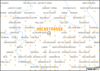 map of Hochstrasse