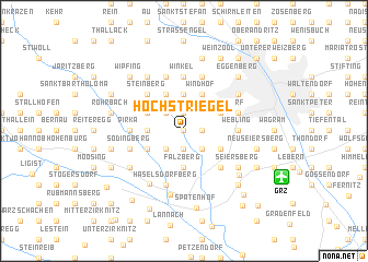 map of Höchstriegel