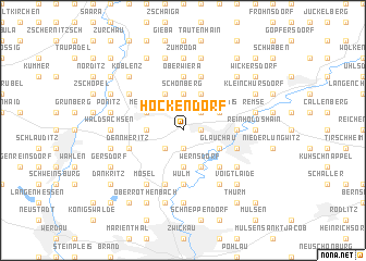 map of Höckendorf