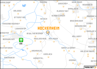 map of Hockenheim