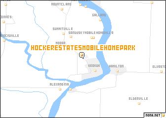 Hocker Estates Mobile Home Park United States Usa Map Nona Net